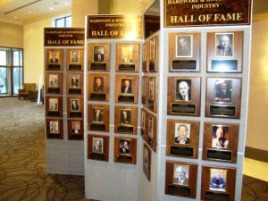 Hall of Fame display