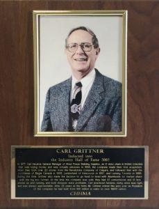 CARL GRITTNER