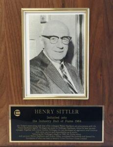 HENRY SITTLER