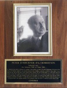 PETER LYMBURNER (P.L.) ROBERTSON